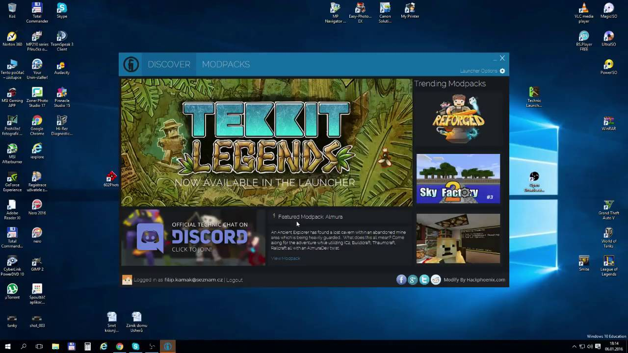 How to install technic launcher windows
