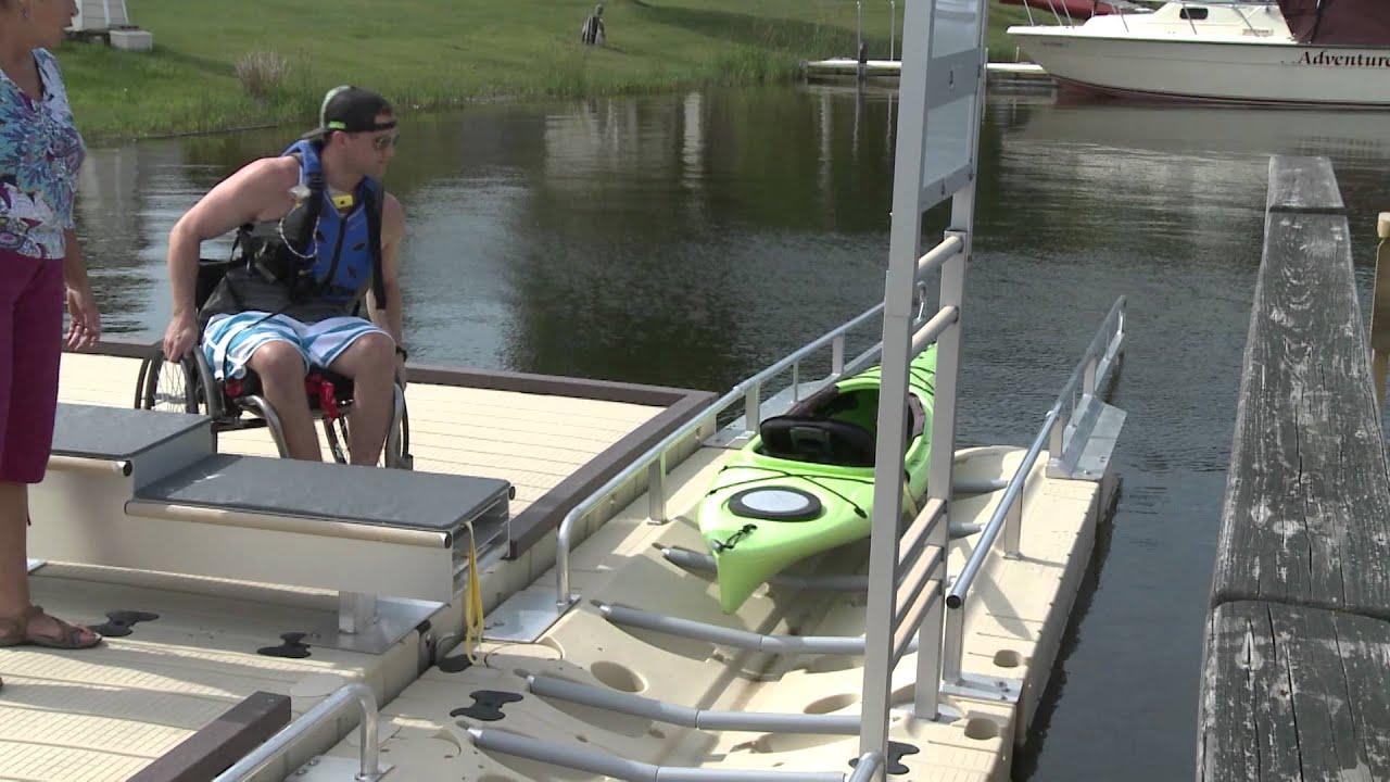 Universally Accessible Kayak Launch Youtube