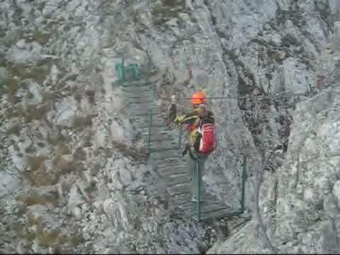 Klettersteig Johann Topo : Innsbrucker klettersteig youtube