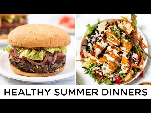 EASY SUMMER DINNER RECIPES ‣‣ vegan & gluten-free