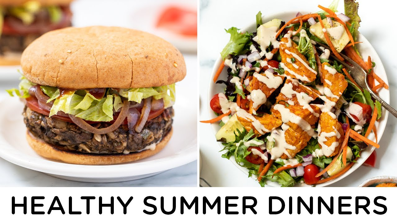 EASY SUMMER DINNER RECIPES ‣‣ vegan & gluten-free