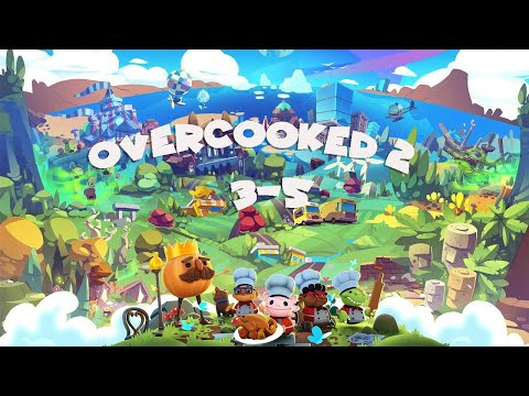 Overcooked All you can eat! Overcooked 2 #3-5 ~ 4 Star (4星) - 2 Player co-op |