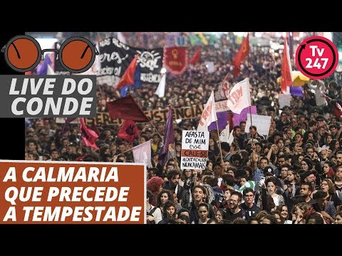 Live do Conde: A calmaria que precede a tempestade