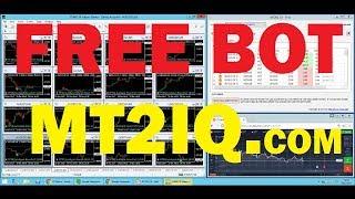 100% Automated bot trading iq option - free trial bot - binary option strategy