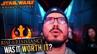 FINALLY Riding RISE OF THE RESISTANCE! || Was it Worth it? || Opening Day In Disney World