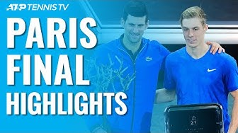 Djokovic Beats Shapovalov To Win Fifth Paris Masters Title! | Paris 2019 Final Highlights