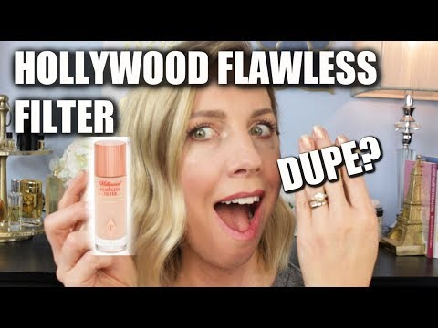 CHARLOTTE TILBURY Hollywood Flawless Filter- DUPE? thumbnail