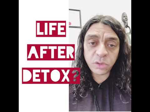 Life and diet after detoxification