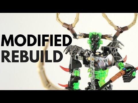 Umarak the Hunter 71310 Modification Rebuild (Instructional Video) + Review