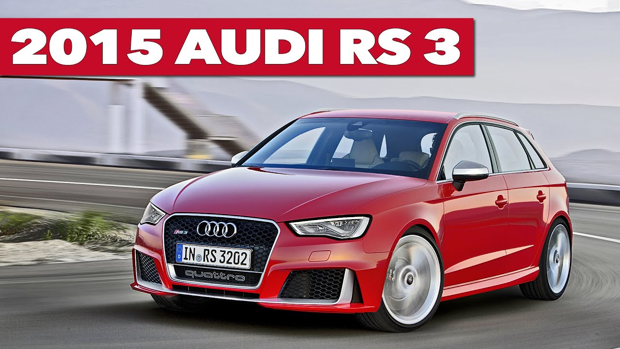 new 2015 audi rs3 sportback official trailer youtube. Black Bedroom Furniture Sets. Home Design Ideas
