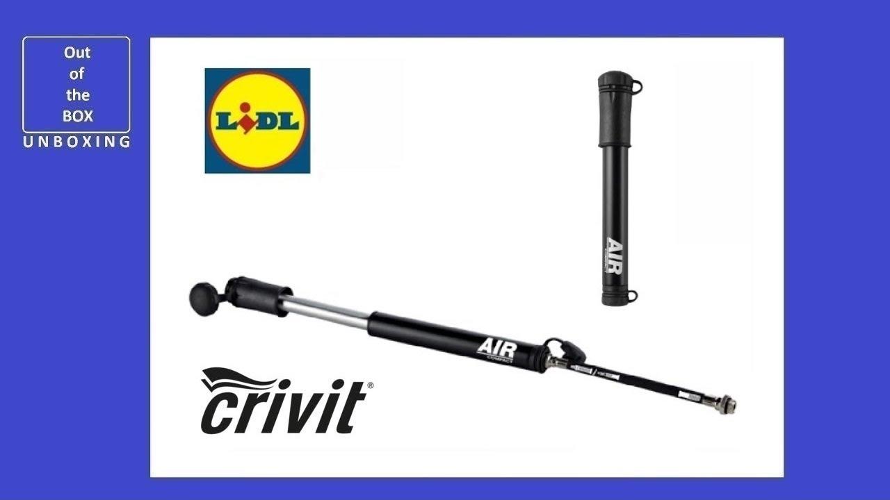 Crivit Mini Bicycle Pump UNBOXING (Lidl 8 3 bar 120 PSI)