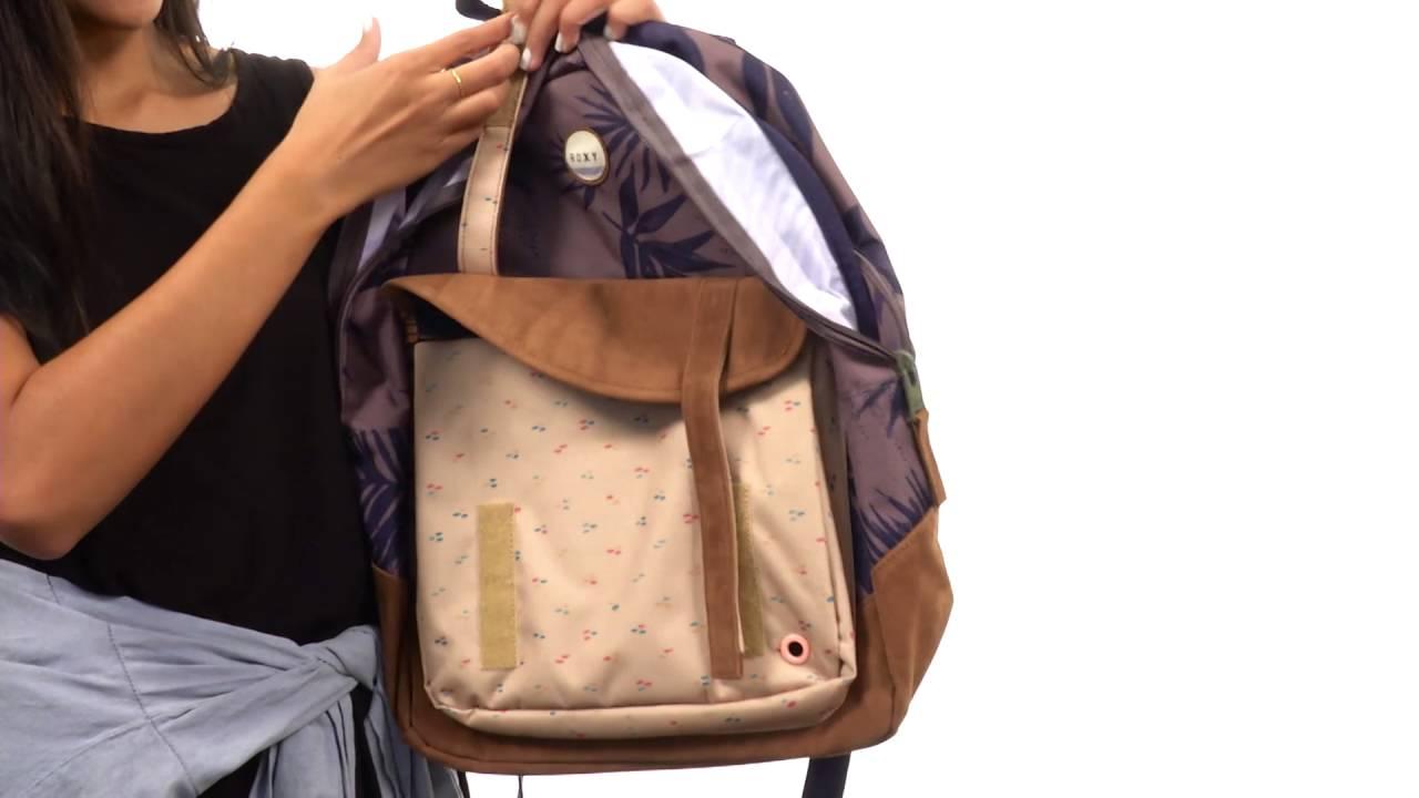 c54d411aefb Roxy Melrose Backpack SKU:8823772 - YouTube