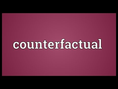 Counterfactual Meaning
