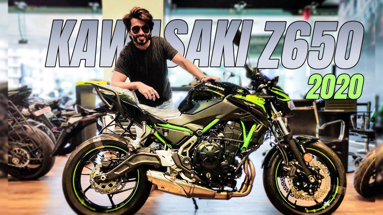 video Kawasaki Z650