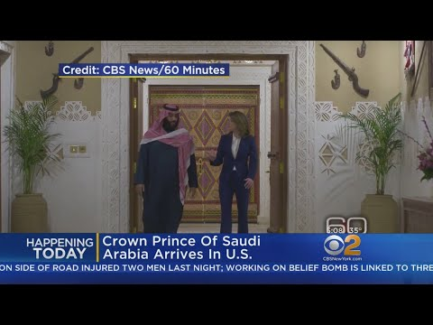 Crown Prince Of Saudi Arabia Arrives In U.S.