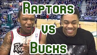 ANOTHER RAPTORS DISAPPEARING ACT LMFAO!! RAPTORS VS BUCKS GAME 3 2017 FULL HIGHLIGHTS AND REACTION!