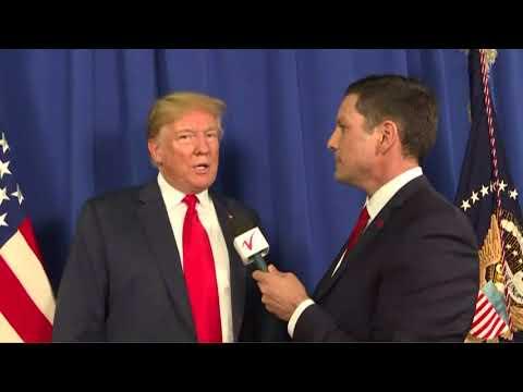 Interview: Chris Berg of KVLY Fargo, ND Interviews Donald Trump - June 27, 2018