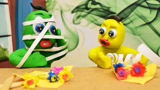 Green Baby and His Yellow Baby Friend in FUN PLAY DAY!
