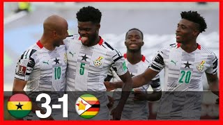 GHANA VS ZIMBABWE3-1-WORLD CUP QUALIFIERS-GOALS amp FANS REACTIONS AT STADIUM