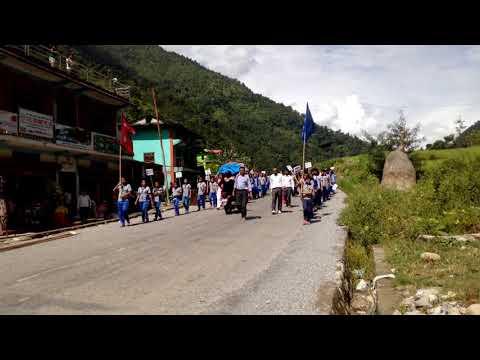 sambidhan diwas ko ryali in badighad rural municipality