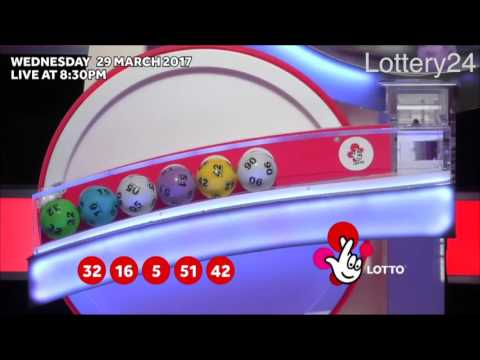 2017 03 29 UK lotto Numbers and draw results