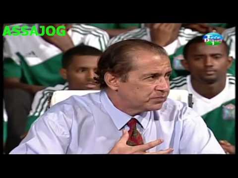 Djibouti: Notre equipe national de football au plateau de la RTD