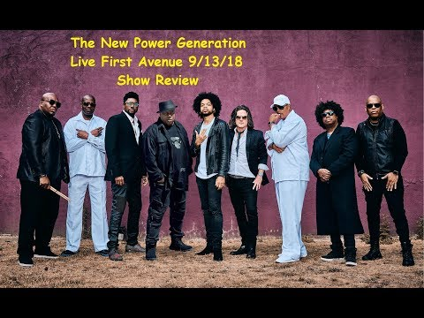 The New Power Generation | Live First Avenue | 9/13/18 Show Review