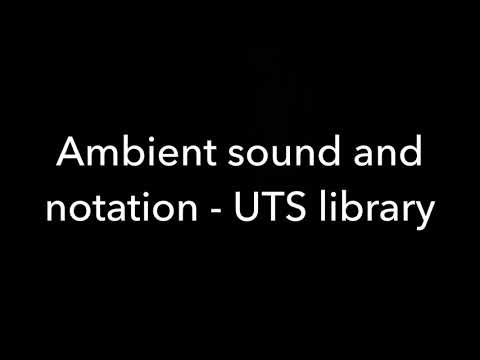 Ambient sound and notation - John Cage