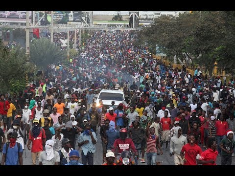 Violent protests in Haiti may mean a humanitarian crisis