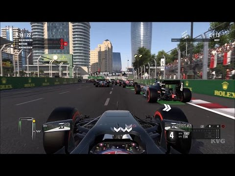 F1 2016 - Baku City Circuit | Grand Prix Of Europe Gameplay (PC HD) [1080p60FPS]