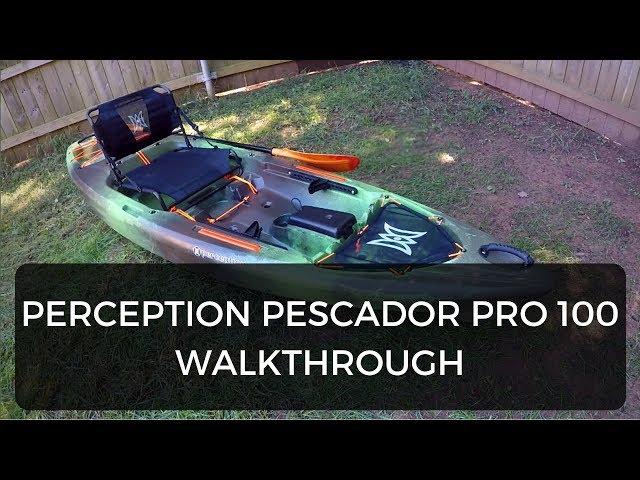 Perception Pescador Pro 100 Walk-through & Beginners Guide