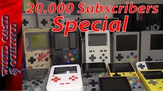 Handheld Retro Collection Overview / 20k Subscribers Video Special