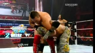 Rey Mysterio & John Morrison vs The Miz & R-Truth (Raw 1-8-2011 ) HD1080P