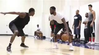 Now this is how you ball: Wade, Paul George, Joakim, Jimmy Butler and Taj Gibson playing pickup.