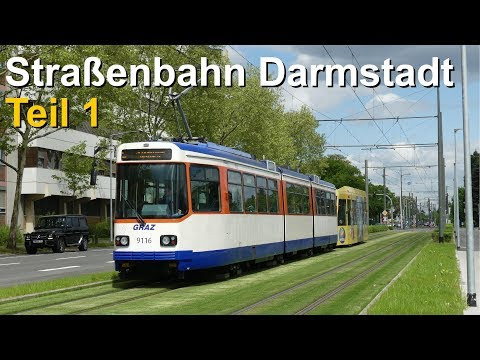 Br111 Fan [Doku]: Straßenbahn Darmstadt (2018) - Teil 1 (Geschichte, Taktzeiten, Fahrzeuge, Zukunft)