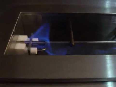 Bio Ethanol Brenner zündung eines kamins mit fernbedienung bioethanol brenner bio