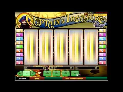 игровой автомат captain s treasure