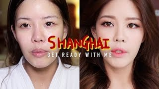 상해 출장 vlog + Get Ready With Me…