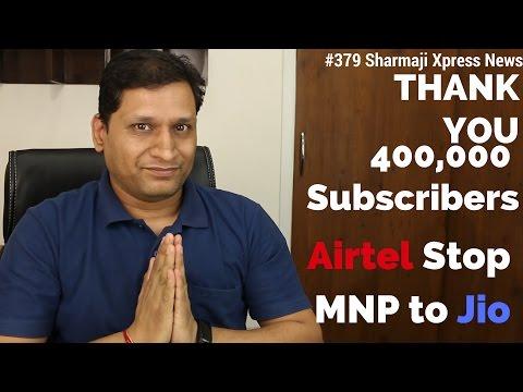 #379 Sharmaji Xpress News | Thank You 400K Subscribers