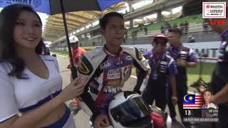 Race 1 Sepang International Circuit Malaysia 2019 ARRC