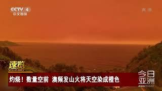 [今日亚洲]速览 灼烧!数量空前 澳频发山火将天空染成橙色| CCTV中文国际