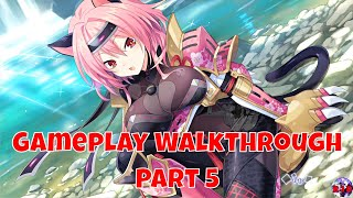 Neptunia X Senran Kagura Ninja Wars - Gameplay Walkthrough Part 5 | English (PS4 Pro, 1080p)
