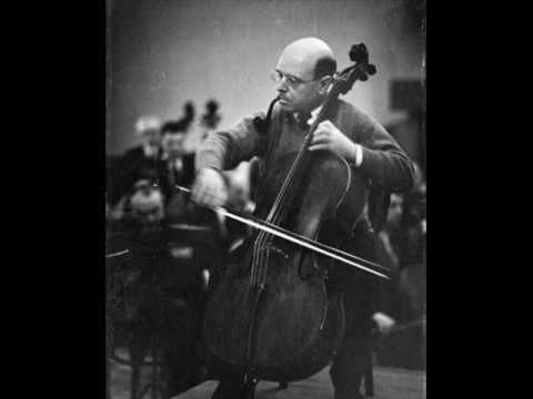 Pablo Casals: Dvorak Cello Concerto - 3rd mvt. (2/2)