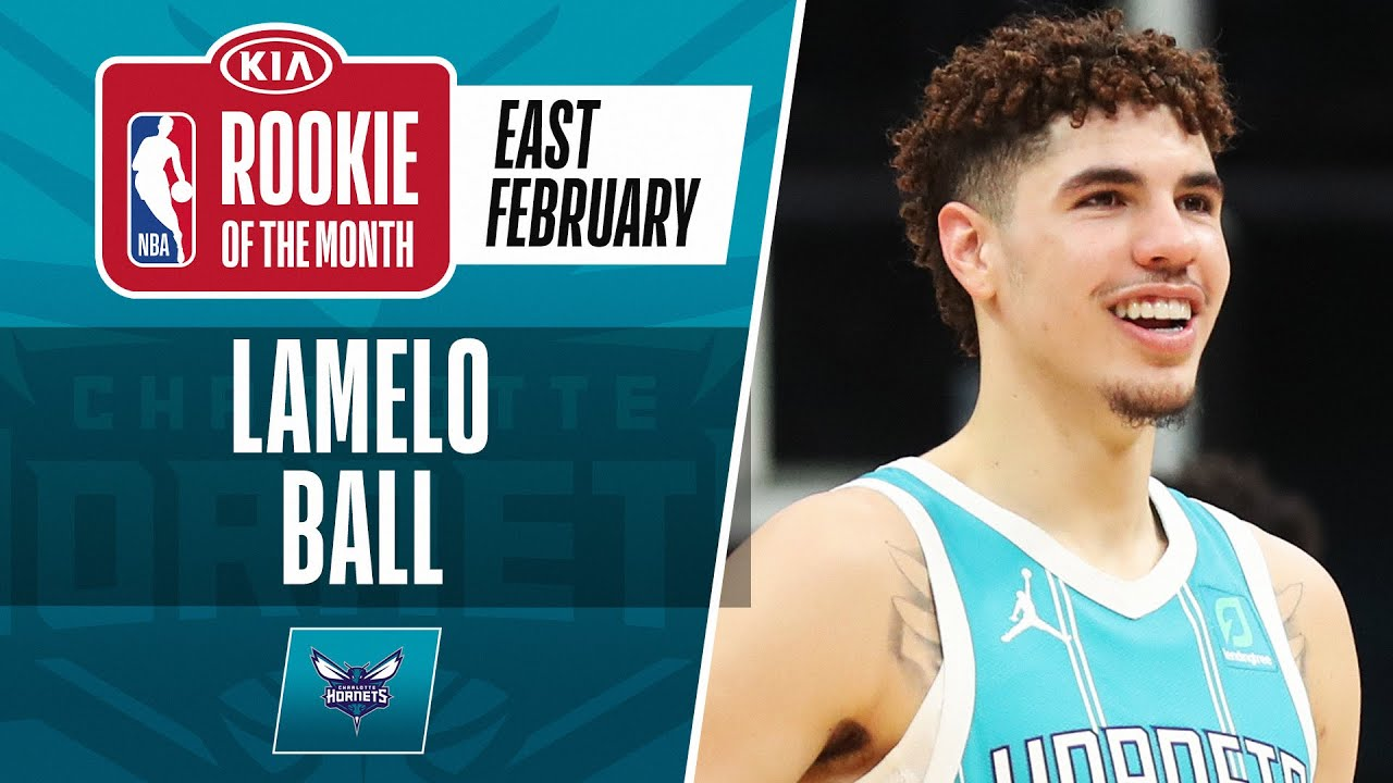 LaMelo Ball Secures #KiaROTM Honors For February | Eastern Conference