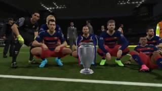 ضربات جزاء برشلونة ضد ريال مدريد PES 2017