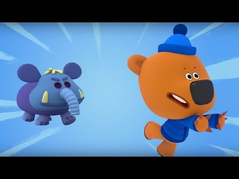 Ми-ми-мишки - Слонопотам - Новогодние серии! Мультики для всей семьи
