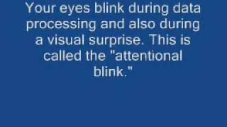 "The ""Attentional Blink"" Test"