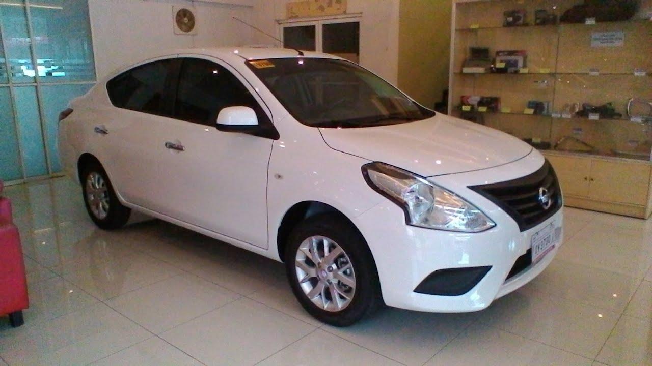 Nissan Almera 1.5L MT Review - White - YouTube