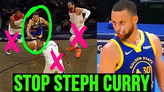 The ONLY Way To STOP Steph Curry