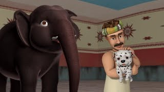 The True Friendship - Elephant and the Dog | Hindi Stories for Children | Infobells